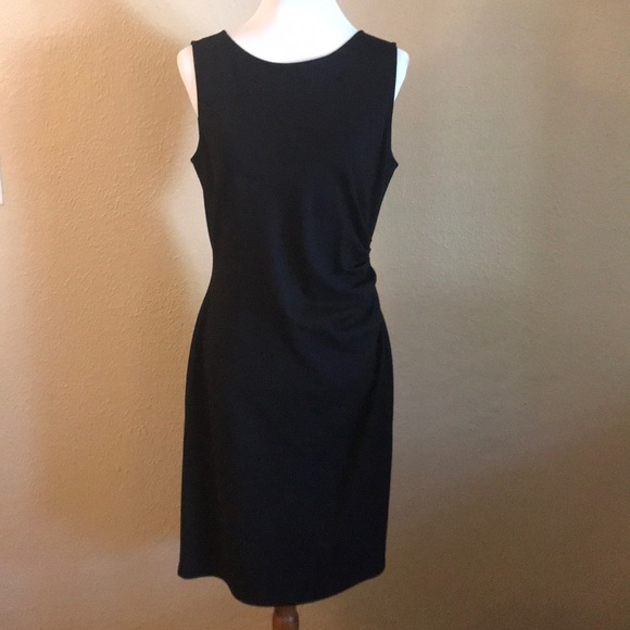 Kenneth Cole Dresses Black Dress With White Zipper Back Poshmark